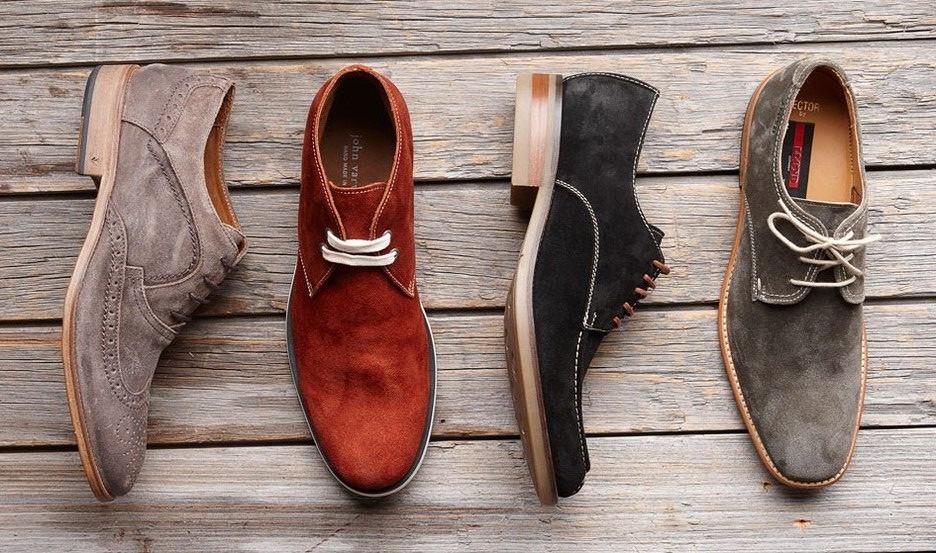 Види чоловічого взуття