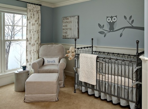 меблі для кімнати немовля
