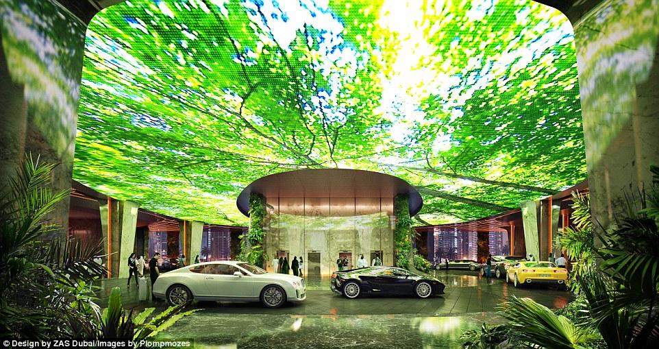 Справжній тропічний ліс в готелі