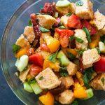 Салат з грінками