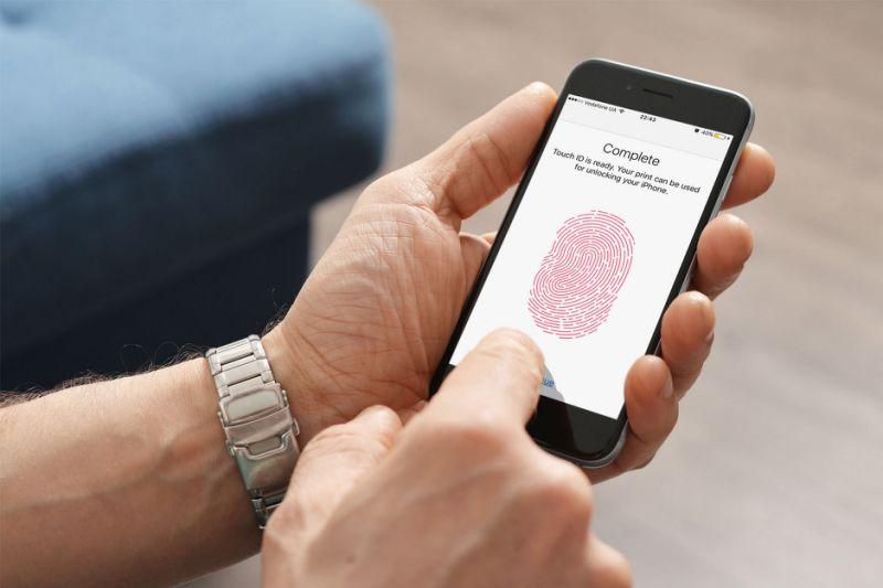 Сенсорний сканер для відбитків