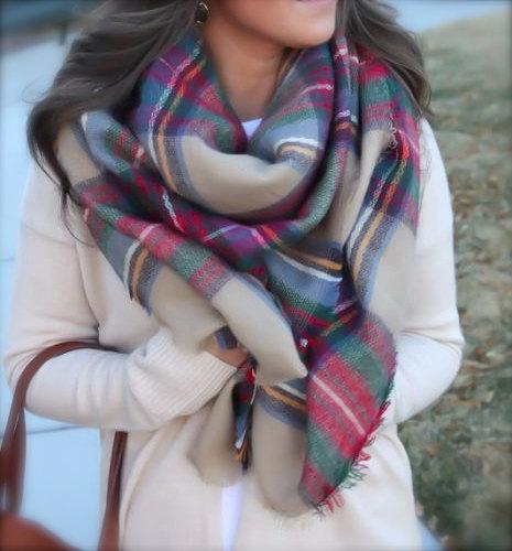 Комфортний шарф