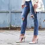 Джинси та елегантне взуття