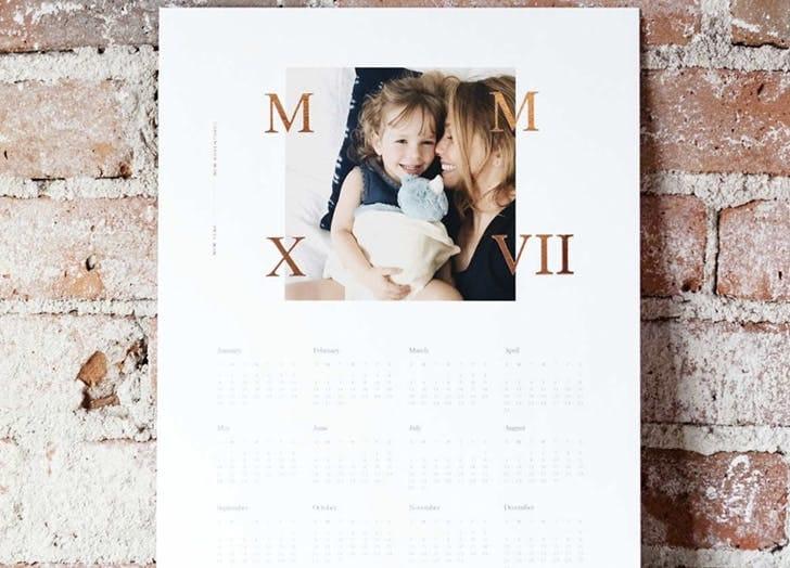 Яскравий фото календар