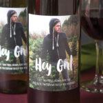 Фото на пляшці з вином