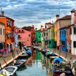 Містечко Бурано в Італї