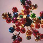 Прикраси для люстри на Новий рік