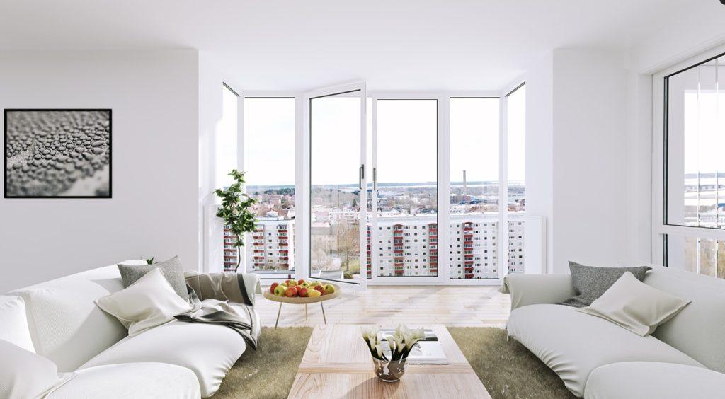 Чистота вікон для свтілого інтер'єру